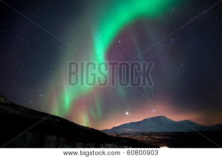 Northern Lights During Arctic Night