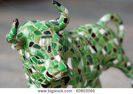 Mosaic Bull