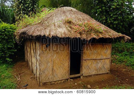 Village House At Rural Area