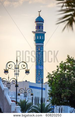 Mosque in center of Muscat, Oman