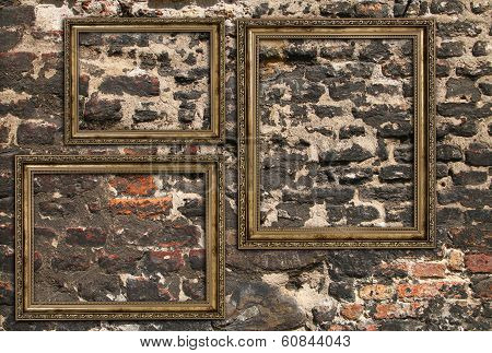Three Wooden Frames