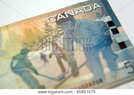 A Lovely Five Dollar Bill From Canada