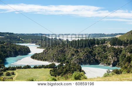 View Of Southern Alps New Zealand