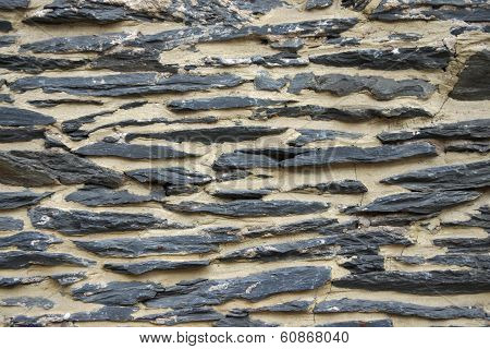 Shale Wall Background