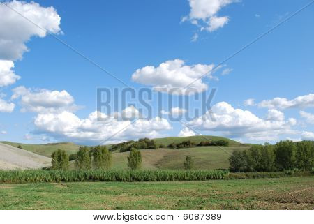 """Picture taken during a trip in the """"Strada del Chianti"""", in Tuscany poster"""