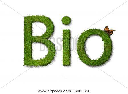 Bio on white