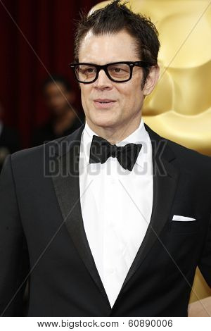LOS ANGELES - MAR 2:  Johnny Knoxville at the 86th Academy Awards at Dolby Theater, Hollywood & Highland on March 2, 2014 in Los Angeles, CA