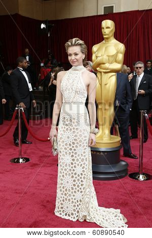 LOS ANGELES - MAR 2:  Portia de Rossi at the 86th Academy Awards at Dolby Theater, Hollywood & Highland on March 2, 2014 in Los Angeles, CA