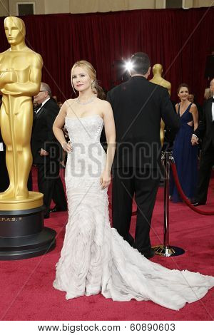 LOS ANGELES - MAR 2:  Kristen Bell at the 86th Academy Awards at Dolby Theater, Hollywood & Highland on March 2, 2014 in Los Angeles, CA