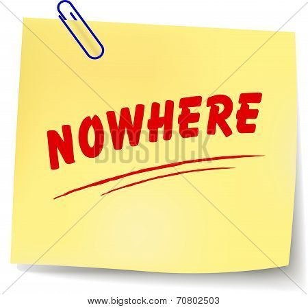 Nowhere Message