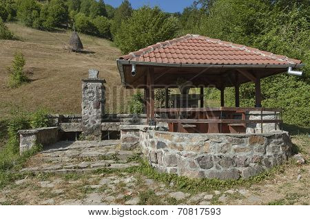 Place for repose in Balkan mountain