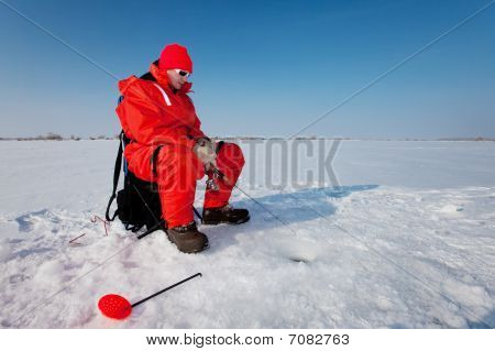 Fishing On Ice