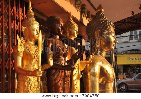 Various Buddha Brass Group
