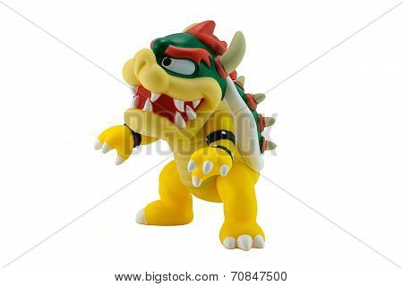 King Bowser Koopa Figure