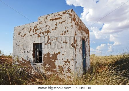 Ruined building