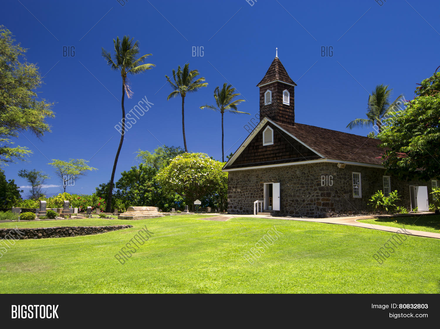 Keawalai Church Near Maluaka Beach South Maui Hawaii Usa