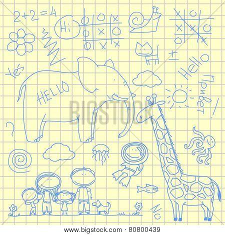 Doodles (raster version)