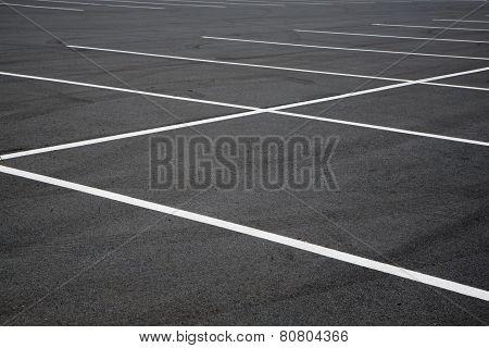 Parking lot spaces
