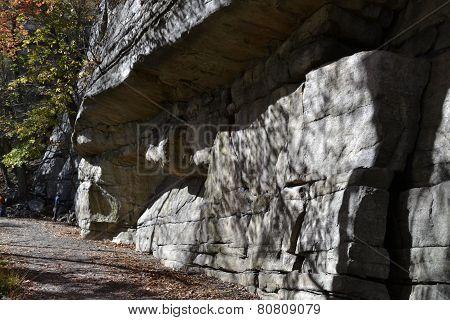 Rockwall at the Catskill