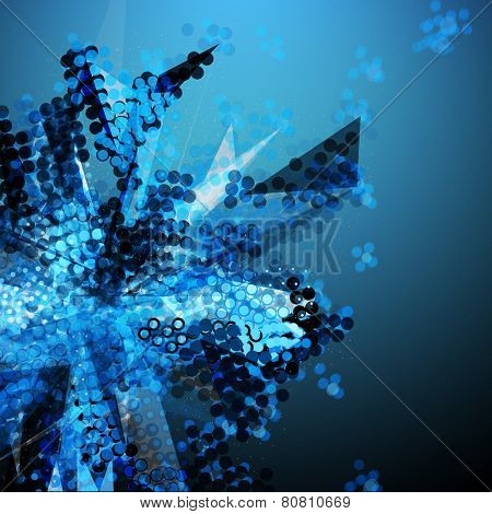 Dotted Abstract Vector Background