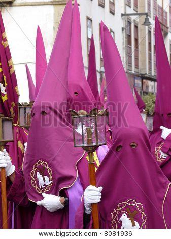 Holy Week penitents, Spain