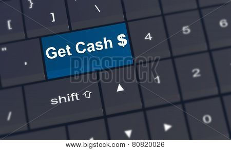 Get Cash Enter Key