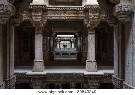Perspective Of Adalaj Stepwell In Ahmedabad
