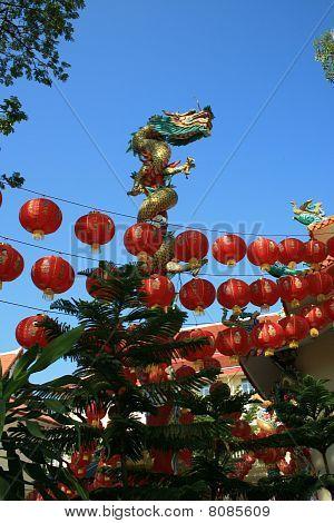 Chinese temple, Thailand.
