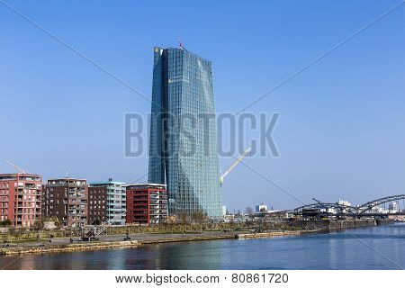 Ecb Building, Frankfurt, Germany