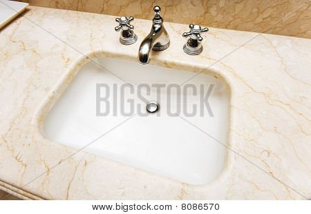 Sink In The Bathroom
