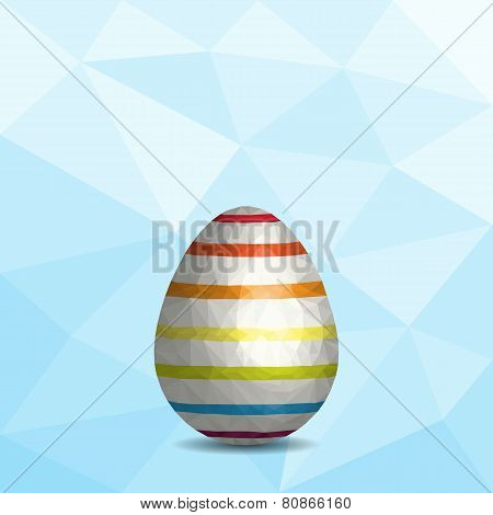 Low Poly Easter Egg