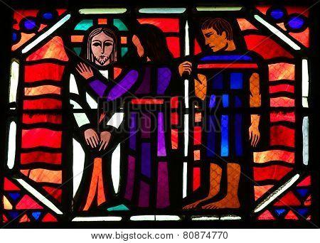 Betrayal Of Jesus By Judas On Good Friday