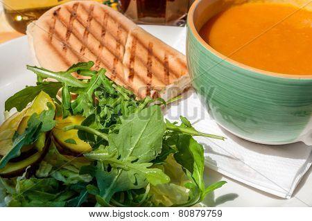 Pumpkin-cream-soup