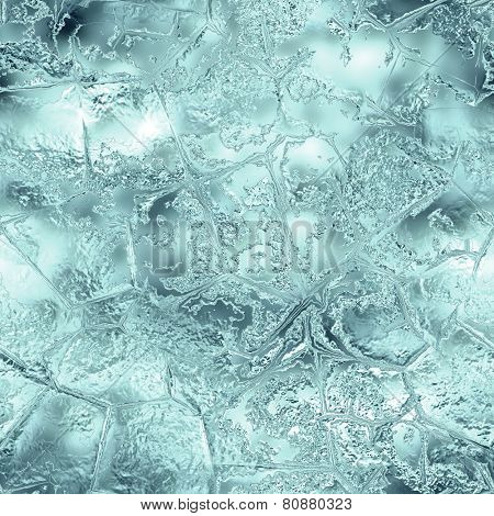 High Definition Tileable Ice Background. Frozen Glacier background with cracked and shiny texture. With Ice Texture you can create backgrounds for any purpose: businesscards, banners, websites, greeting cards etc. Web and Print suitable texture. poster