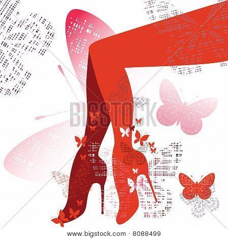 Fashion With Leg