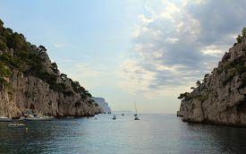 Cliffs in Cotê D'azur, France