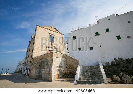City Walls Of Ostuni, Puglia, Italy