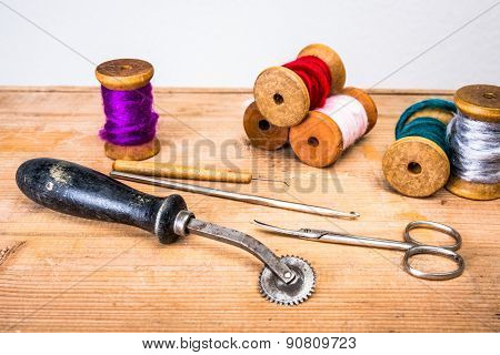 utensils for sewing
