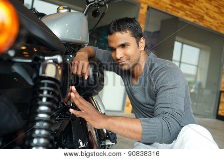 Repairing Motorcycle