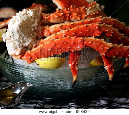 King Crab On Ice