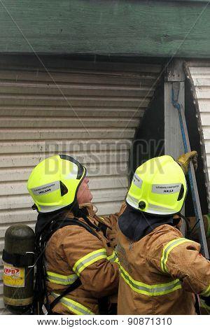 Atheldene Fire Access