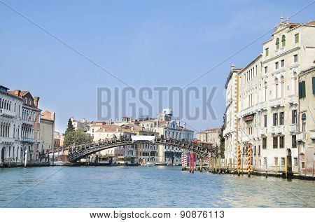 Ponte dell'Accademia in Venice