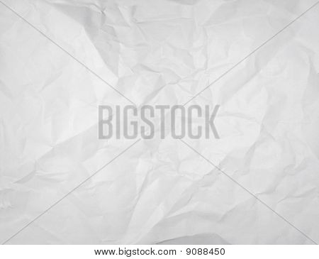 Wrinkled White Paper