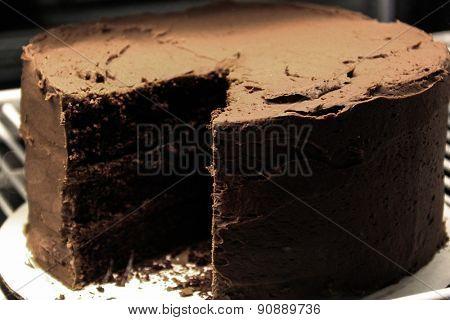 Java River Chocolate Cake