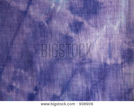 Purple Tie-Dye Closeup