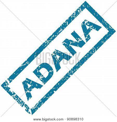 Adana rubber stamp