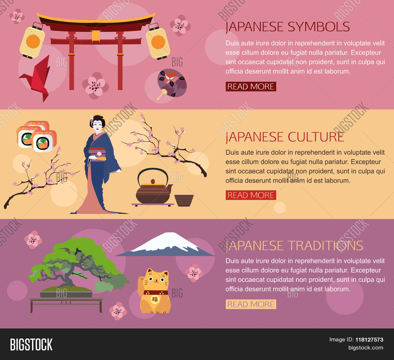 Set Japan Travel Vector Photo Free Trial Bigstock