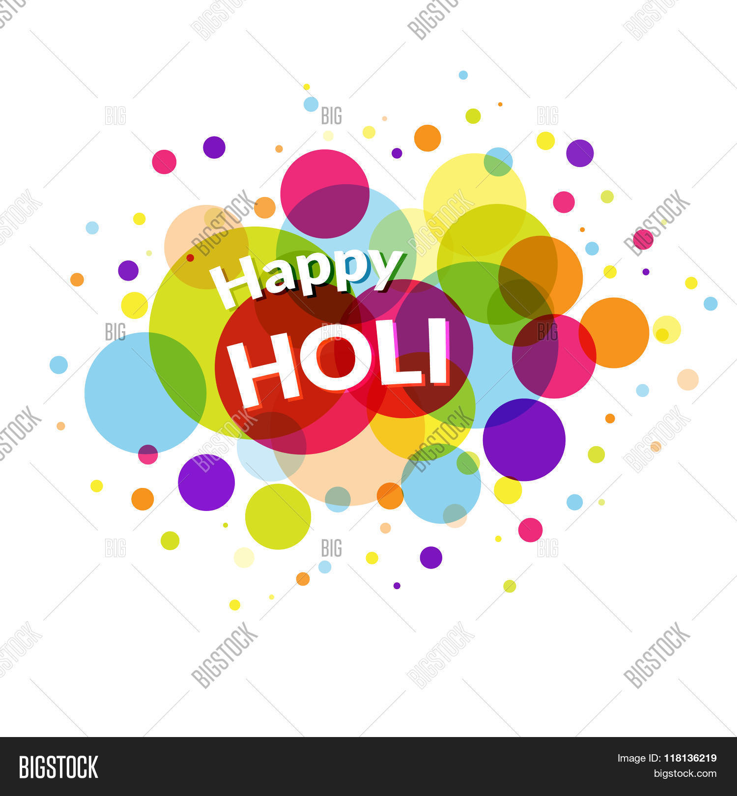 Happy holi greeting vector photo free trial bigstock happy holi greeting card m4hsunfo