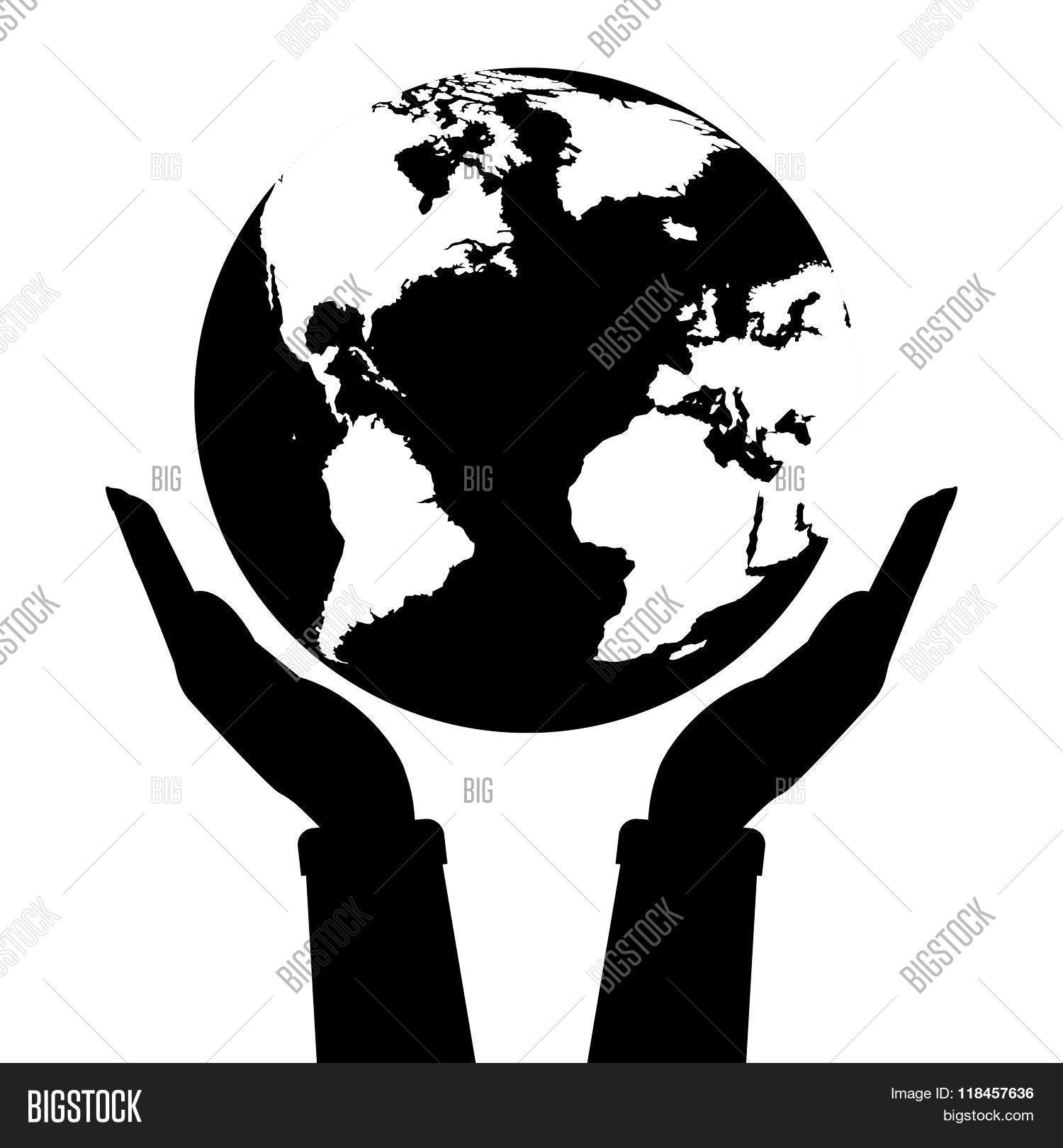 Two Hands Holding Vector Photo Free Trial Bigstock