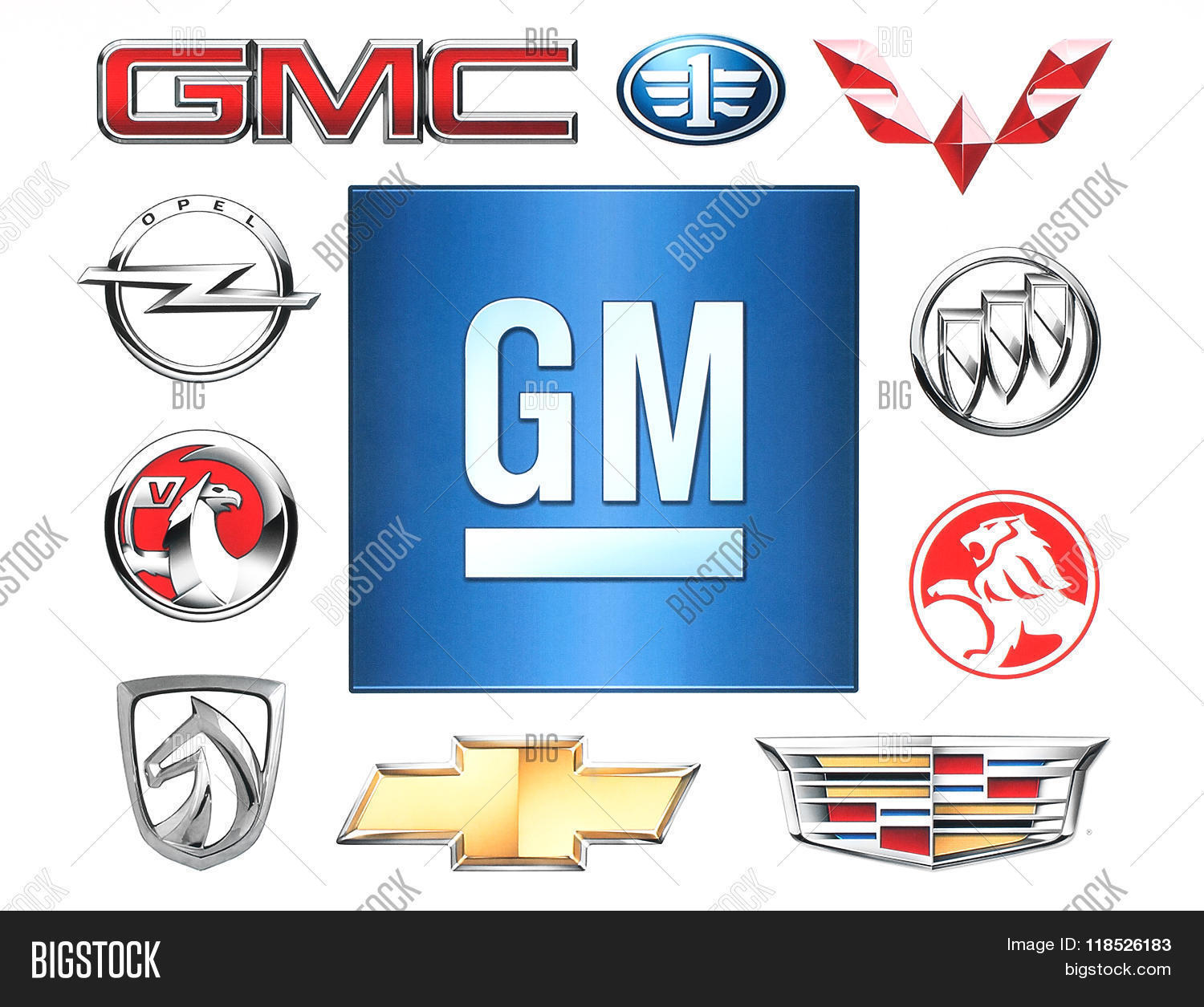 Brands General Motors Image Photo Free Trial Bigstock